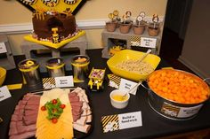 Construction Birthday Party Ideas | Photo 4 of 15 | Catch My Party