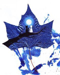 24 Fallen Leaves, magical art by Kristi Botkoveli (Nancy Woland) and Beka Zaridze - ego-alterego.com