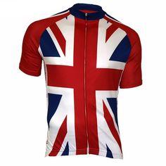 Union Jack Men's UK Cycling Jersey #cyclegear