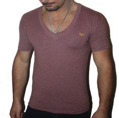 Baby Oxblood Deep V Mens T-shirt