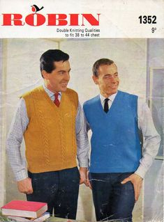 "mens knitting pattern pdf download mens slipover knitting pattern mens pullovers cable slipover sweater 38-44"" DK light worsted 8 ply by Hobohooks on Etsy"