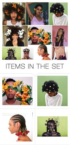 """""""✿ll POC Flower Children ll✿"""" by yaja-diego ❤ liked on Polyvore featuring art, Flowers, moodboard and poc"""