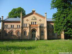 Blick auf den Marstall am Schlossgarten