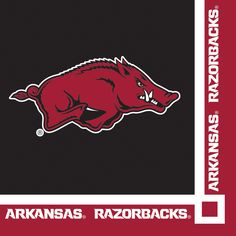 Univ of Arkansas Beverage Napkins/Case of 240 Tags: University of Arkansas; Beverage Napkins; Collegiate; University of Arkansas Beverage Napkins;University of Arkansas party tableware; https://www.ktsupply.com/products/32786325882/Univ-of-Arkansas-Beverage-NapkinsCase-of-240.html