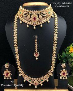 Dubai Gold Jewelry, Henna Designs Feet, Bridal Necklace Set, Neck Choker, Antique Gold, Fashion Jewelry, Chokers, Jewels, Free Shipping