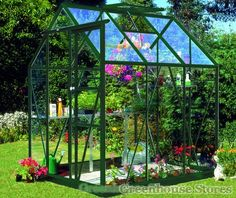 Eden Countess Black Greenhouse with horticultural glazing. Buy online now at the best UK prices and free UK home delivery.