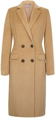 I have discovered through Pinterest I love pea coats!  Who knew??   I like the length of this one and camel is my harmony color.  Could definitely adios the pockets on the hip though.  That is a no-no.