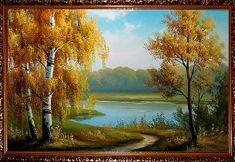Осень - Осенний пейзаж <- Картины маслом <- Картины - Каталог | Универсальный интернет-магазин подарков и сувениров