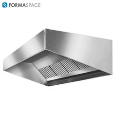 Stainless Vent | FORMASPACE | Recirculates clean air through front vents.