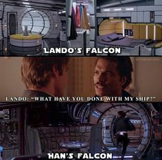 The Falcon has seen better days