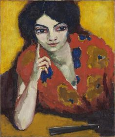 Kees_van_Dongen_-_A_Finger_on_her_Cheek_(1910)