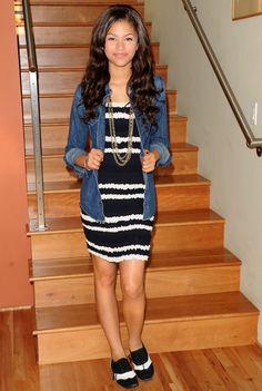 Zendaya Coleman - Denim Photoshoot Candids in LA