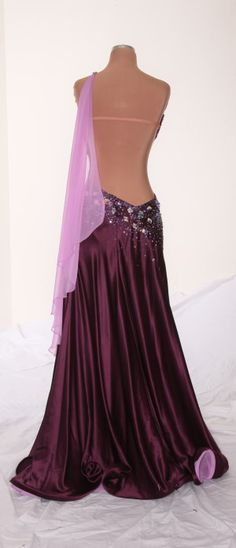 Ballroom Dress - love the style of the back