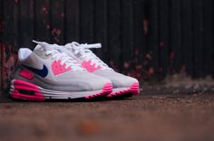 0f5c6b2ad231 Nike WMNS Air Max Lunar90 – Laser Pink. Women Sneakers 2017, Trendy Womens  Sneakers, Shoes ...