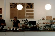 Drop Coffee Roasters in Stockholm. www.thisoffscriptlife.com #stockholm #sweden #dropcoffee