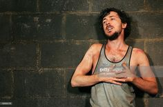 Actor Aiden Gillen performs during the launch of the production of Frank McGuinness's play 'Someone Who'll Watch Over Me' at the New Ambassadors Theatre on April 2005 in London. Get premium, high resolution news photos at Getty Images Aidan Gillen, Watch Over Me, Tank Man, Product Launch, London, Play, News, Pictures