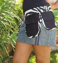 Cartucheira 2 bolsos Zebra