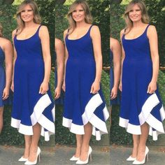 First Lady Melania Trump has once again left fashion critics in an awe, donning a gorgeous dress for Independence Day, which caught the eyes of millions.