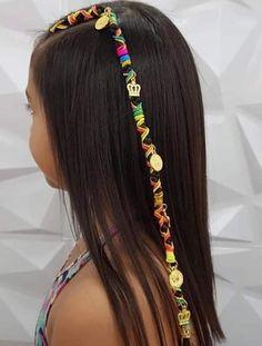 Little Girl Hairstyles, Cute Hairstyles, Rainbow Braids, Hair Upstyles, Afro, Curly, Long Hair Styles, Beauty, Ideas