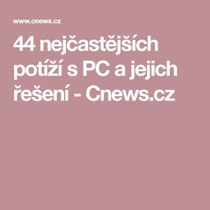 44 nejčastějších potíží s PC a jejich řešení - Cnews. Pc Mouse, Linux, Pisa, Internet, Education, Windows, Facebook, Linux Kernel, Educational Illustrations