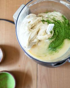 "Matcha (Green Tea) Banana ""Ice Cream"" nice cream recipe"