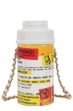 b7114240e8e3 Moschino Pill Bottle Shoulder Bag Collection Capsule