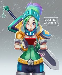 Enhance your battlefield strategy for LOL (League of Legends) with champion build guides at EloHell. Learn and discuss effective strategy from LOL community and dominate the field to win. Artemis, Game Character, Character Design, Character Ideas, Legend Images, Fanart, Kawaii, Lol League Of Legends, Beautiful Drawings
