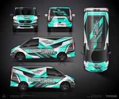 The approved commercial wrap design project