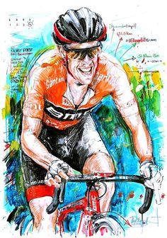 Richie Porte wins Tour Down Under 2017 by Horst Brozy