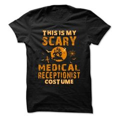 Halloween Costume for MEDICAL RECEPTIONIST T-Shirts & Hoodies