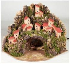 Christmas Nativity Scene, Christmas Time, Xmas, Clay Houses, Christmas Costumes, Christmas Decorations, Holiday Decor, Fairy Houses, Favorite Holiday