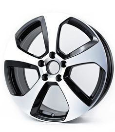 """4x Mk7 Style Alloys Wheels VW Golf Gti 18"""" 5x112 Volkswagen Black & Polished Save On Tyres Direct Exeter 01392203051"""