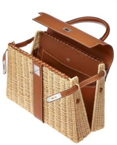 624c254dc5f9 The Hermes Kelly Picnic Bag preserves the iconic shape of the legendary  Kelly Bag and combines the basket wavy art with the leather manufacturer!