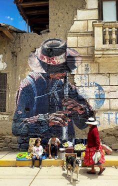 Graffiti Art, Street Art Banksy, 3d Street Art, Street Artists, Installation Street Art, Urbane Kunst, Amazing Street Art, Stencil Art, Art Graphique