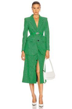 High Fashion Outfits, Fashion Dresses, Mode Vintage, Everyday Outfits, Shades Of Green, Business Women, Luxury Fashion, Women's Fashion, Balenciaga
