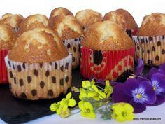 MAGDALENAS BARRIGA Sin Gluten, Brownies, Mini Cupcakes, Donuts, Frosting, Muffins, Breakfast, Sweet, Desserts
