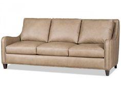 Bradington Young Greco Leather Sofa. Custom Made in the USA! : Leather Furniture Expo