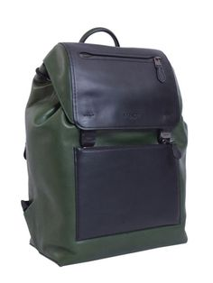 Coach - Manhattan Leather Backpack