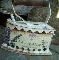Antique Iron, Vintage Iron, Chabby Chic, Album Book, Tole Painting, Country Chic, Garden Art, Decoration, Reusable Tote Bags