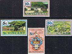 St Vincent 1973 West Indies University Set Fine Mint SG 376 9 Scott 360 3 Other St Vincent Stamps HERE