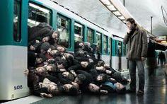 Случай в метро - скачать обои на рабочий стол