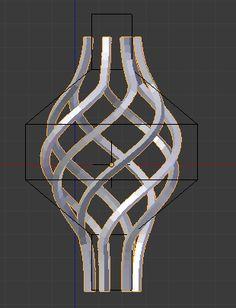 modeling - How can I make a wrought iron basket? - Blender Stack Exchange