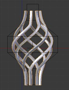 modeling - How can I make a wrought iron basket? - Blender Stack Exchange