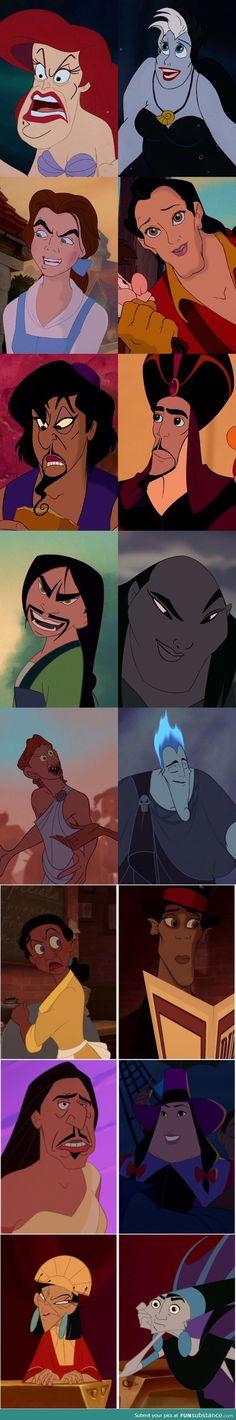 Disney Hero/Villain Faceswap