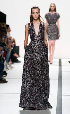 Elie Saab S/S 2014 - Paris Fashion Week