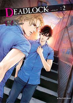 Les sorties #Yaoi du 26 mai chez #TaifuComics - #Manga -  #Deadlock Vol.2