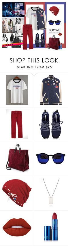 """gorgeus"" by nikahgreenleaf ❤ liked on Polyvore featuring Marc Jacobs, Ben Sherman, adidas, Clare V., Keds, Lime Crime and Lipstick Queen"