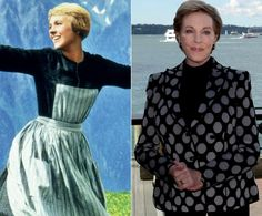 50 years ago, 'The Sound of Music' was released in theaters across the U.S. and quickly became of the memorable films in history. Check out where the actors and actresses are today... Sound Of Music Movie, Famous Movie Scenes, Victor Victoria, Julie Andrews, Mary Poppins, Golden Globes, Classic Hollywood, Good Movies, Banks