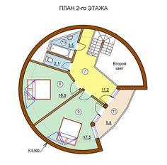 Каркасный, купольный дом 4V-2-120/1, фото 4