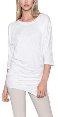 Darsan Dolman Shirt Free Shipping over $50, Only $39.00 - Spirit Voyage - S - White